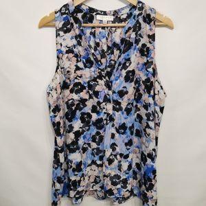 Kenar |Sleeveless Floral Pattern Blouse